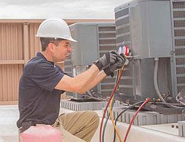 Mantenimiento de aire acondicionado y revisión